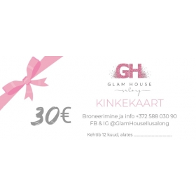 Kinkekaart 30€